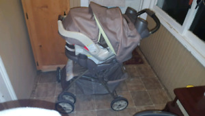 Graco infant to toddler stroller
