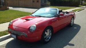 2005 Ford Thunderbird lkie new condition 50TH ANN.EDITION