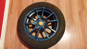 Mazda 3 Tires with Rims Size 205/55/R16 Kitchener / Waterloo Kitchener Area image 3