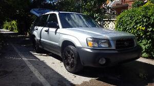 2003 Subaru Forester 2.5x VUS