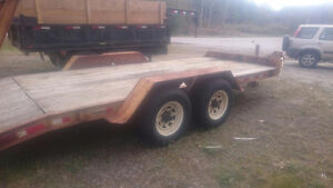 For Sale :  Bame Float Trailer - 4 ton Dual Axle Certified
