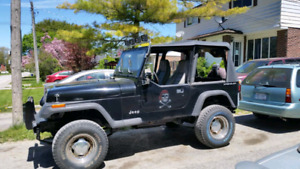 Jeep yj zero rust