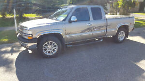 2001 chevrolet silverado 1500 4x4 ext cab NEW TIRES $5000
