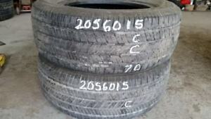 Pair of 2 Bridgestone Turanza EL400 205/60R15 tires (60% tread l