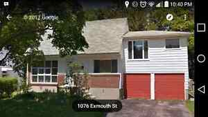 House for rent - 1076 Exmouth St.
