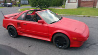 1988 Toyota MR2 Supercharged AW11 T-Top