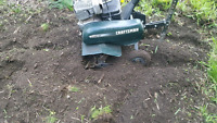 Rototiller for hire