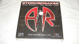 Stormbreaker Game-Alex Rider Board Game-complete