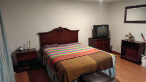 Furnished Bachelor Apartment. Heat and Lights included