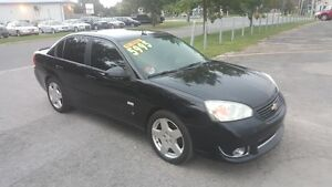 CHEVROLET MALIBU SS ** FULLY LOADED BALCK on BLACK ** SALE $5995