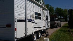 21' wildwood trailer