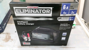 Eliminator battery charger- new
