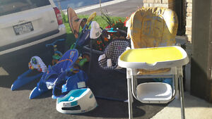 lot of baby items $5 each or $20 for everything