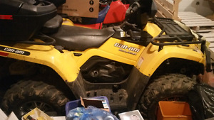 2013 can am outlander 400  6000 obo