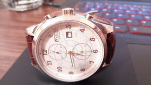 Men's Rose Gold Invicta Watch