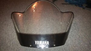 Clear windshield from 1998 Yamaha SRX