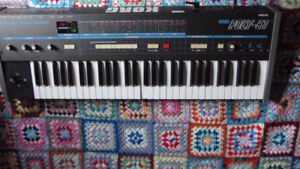 Vintage 1982 KORG Poly-61 Synth
