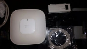 Cisco Aironet 1142 Wireless Access Point AIR-LAP1142N-A-K9 W/pow London Ontario image 1