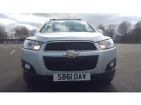 Chevrolet Captiva 2.2 VCDI 4WD 7 SEAT LT Good / Bad Credit Car Finance (silver) 2012