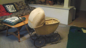 Old  Style  Doll Carriage.  could be collectable