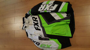 FXR Jacket, Pants and Gloves Lime Green