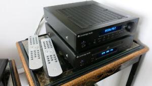Récepteur amplificateur & lecteur cd Cambridge