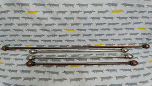 4 Curtain Rods