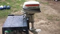 PIECE. moteur johnson 4 hp