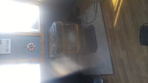 Enviro EF3 pellet stove with vent