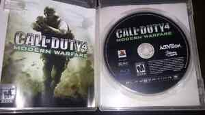 Call of duty 4 playstation 3