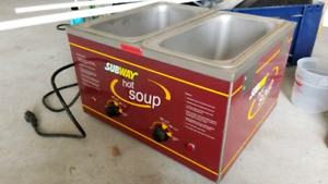 Soup warmer for hot holding for sauces - BRAND NEW