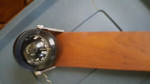 Used AIRGUIDE Chicago Dash Mount Compass Lighted