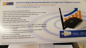 Boost cell phone booster