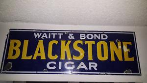 Vintage Porcelain Cigar Sign