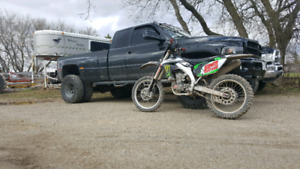 2007 kxf 450 trade for 4x4 manual jeep or truck