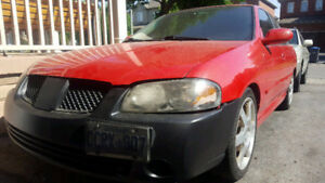 2005 NISSAN SENTRA SE-R 2.5L 5 SPEED MANUAL