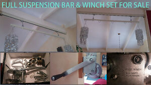 winch and suspension bar set - A STEAL AT $50