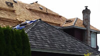 ►♛ Roof Leaks & Repairs- Roof De Mossing & Cedar Roof Repairs