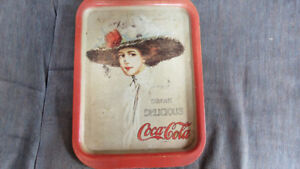 Coca-Cola tin tray-1971