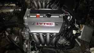 Jdm K24A tsx 200hp longblock Honda Acura