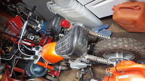 Buying your broken or old bikes, mini bikes,quad, trike or sled