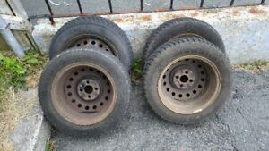 4 Summer Tires with Wheels. 4 Winter Tires