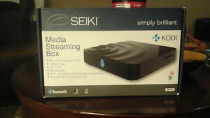 SEIKI simply brilliant 《KODI》 bluetooth media streaming box *NEW