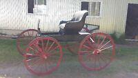 Buggy with shafts. Sleigh also available