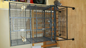 Large bird or sugar glider cage