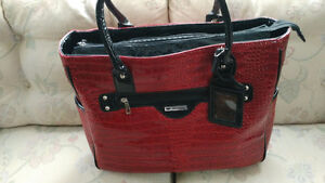 Cabrelli and Co Red wheel Bag