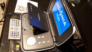 "Insignia 7"" Portable DVD Player"