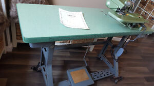 Benz Industrial Blind Hemmer with Table Kingston Kingston Area image 5