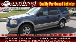 2006 Ford Expedition 5.4L 4WD   NOBODY GETS TURNED DOWN oac