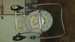 Brand new condition baby swing
